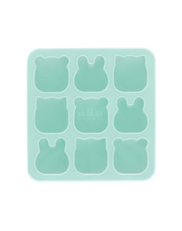 Silikonowe foremki do zamrażania i pieczenia We Might Be Tiny - Minty Green