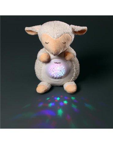 BABYONO - 596 Przytulanka - projektor SHEEP SCARLET