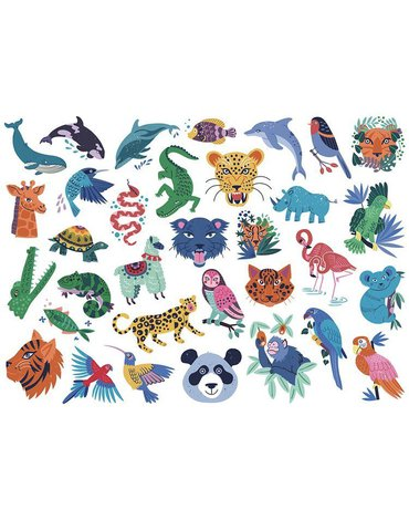 Auzou Tatuaże Zwierzęta 82863
