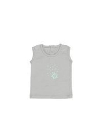 Koszulka bez rękawów BŁĘKITNY rozmiar 62 SnoozeBaby