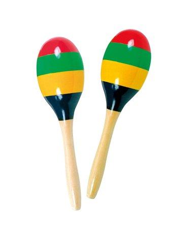 Bino - Marakasy kolorowe zestaw 2 szt.
