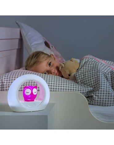 Zazu Kids - Zazu LOU Lampka Nocna Sowa Pink