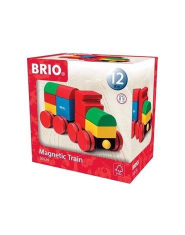 BRIO Klocki Magnetyczne Pociąg