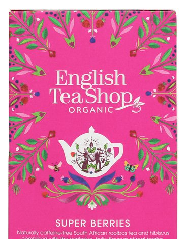 English Tea Shop, Herbata Super Berries, 20 saszetek
