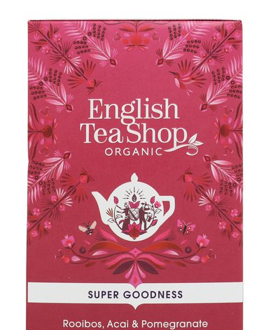 English Tea Shop, Herbata Rooibos, Acai & Pomegranate, 20 saszetek