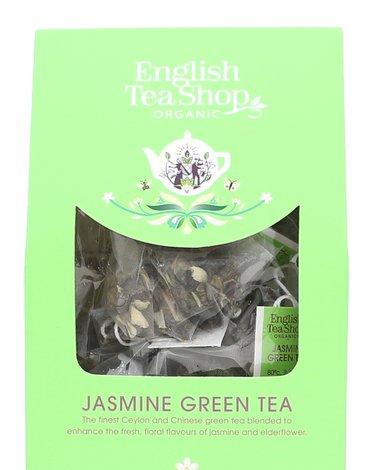 English Tea Shop, Herbata Jasmine Green Tea, 15 piramidek