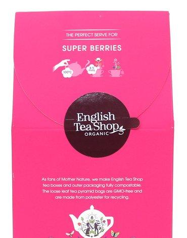 English Tea Shop, Herbata Super Berries, 15 piramidek