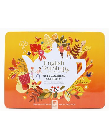English Tea Shop, Herbata BIO Zestaw Super Goodness Collection, 36 saszetek