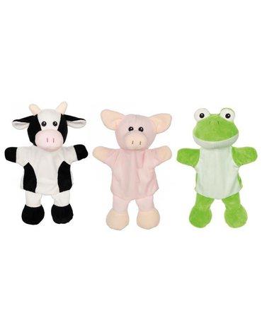 Goki - Pacynki z nóżkami - krówka, świnka, żabka