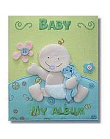 MARKO - Albumy i pluszowe miarki wzrostu - Album - niemowlak z misiem