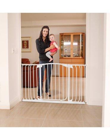 Dreambaby - Zestaw Combo-bramka Chelsea(W:97-106cm x H:75cm)+rozszerzenia 9cm,18cm