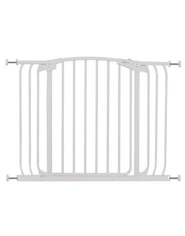 Dreambaby - Bramka bezpieczeństwa Chelsea- szeroka (W: 97-106cm x H: 75cm) - biała