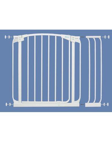 Dreambaby - Rozszerzenie bramki bezpieczeństwa Chelsea - 18cm (wys. 75cm) - białe