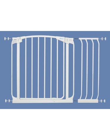 Dreambaby - Rozszerzenie bramki bezpiecz.Chelsea-27cm(wys.75cm)-białe(brąz.karton)