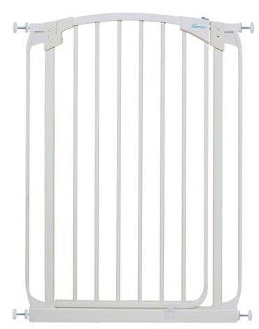 Dreambaby - Bramka bezpieczeństwa Chelsea (W: 71-80cm x H: 1m) - biała