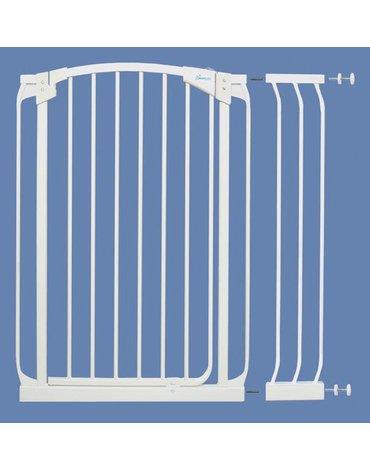 Dreambaby - Rozszerzenie bramki bezpiecz.Chelsea-18cm(wys. 1m)-białe (brąz.karton)