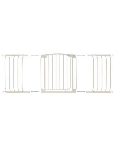 Dreambaby - Rozszerzenie bramki bezpiecz.Chelsea-36cm(wys.75cm)-białe(brąz.karton)