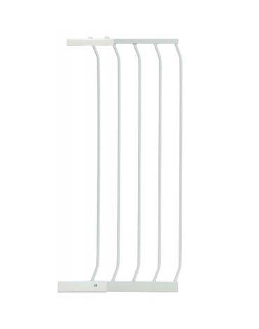 Dreambaby - Rozszerzenie bramki bezpiecz.Chelsea-36cm (wys.1m)-białe (brąz.karton)