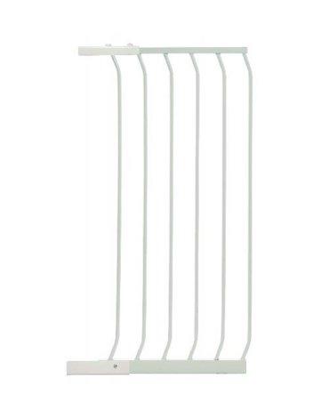 Dreambaby - Rozszerzenie bramki bezpiecz.Chelsea-45cm(wys. 1m)-białe (brąz.karton)