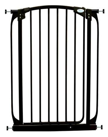 Dreambaby - Bramka bezpieczeństwa Chelsea (W: 71-80cm x H: 1m) - czarna