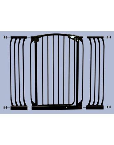 Dreambaby - Rozszerzenie bramki bezpiecz.Chelsea-27cm(wys. 1m)-czarne(brąz.karton)