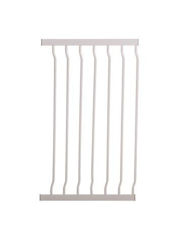 Dreambaby - Rozszerzenie bramki bezpieczeństwa Liberty - 45cm (wys. 76cm) - białe