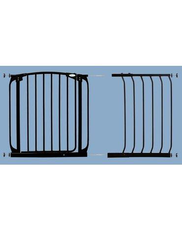 Dreambaby - Rozszerzenie bramki bezpieczeństwa Chelsea - 45cm (wys. 75cm) - czarne