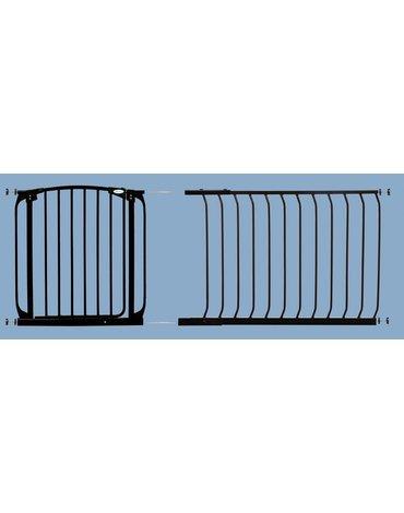 Dreambaby - Rozszerzenie bramki bezpiecz.Chelsea-1m(wys. 75cm)-czarne(brąz.karton)