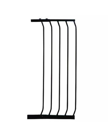 Dreambaby - Rozszerzenie bramki bezpiecz.Chelsea-36cm(wys. 1m)-czarne(brąz.karton)
