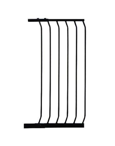 Dreambaby - Rozszerzenie bramki bezpiecz.Chelsea-45cm(wys. 1m)-czarne(brąz.karton)