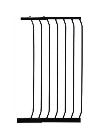 Dreambaby - Rozszerzenie bramki bezpieczeństwa Chelsea - 54cm (wys. 1m) - czarne