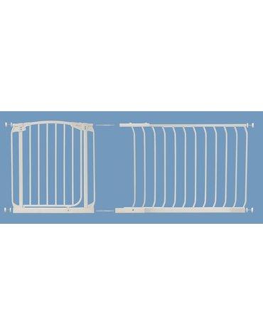 Dreambaby - Rozszerzenie bramki bezpieczeństwa Chelsea - 1m (wys. 75cm) - białe