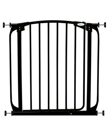 Dreambaby - Bramka bezpieczeństwa Chelsea (W: 71-80cm x H: 75cm) - czarna