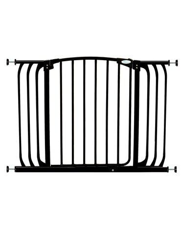 Dreambaby - Bramka bezpieczeństwa Chelsea-szeroka (W: 97-106cm x H: 75cm) - czarna