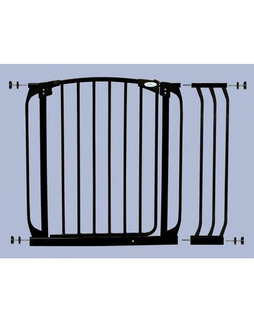 Dreambaby - Rozszerzenie bramki bezpieczeństwa Chelsea - 18cm (wys. 75cm) - czarne
