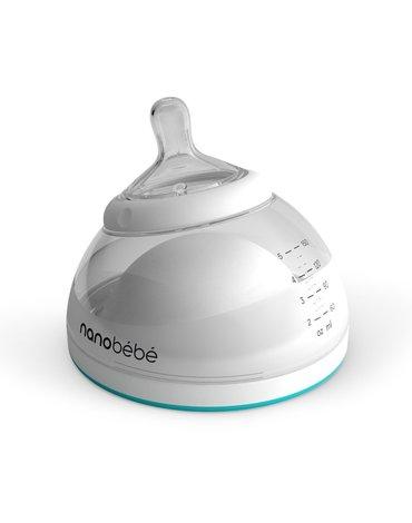 Nanobebe - Butelka do karmienia / przechowywania pokarmu 150 ml 3 szt-turkusowa