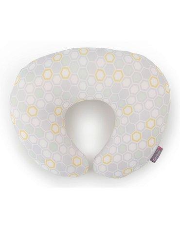 CuddleCo - Poduszka do karmienia Comfi-Mum 5w1 bambus - plaster miodu pastelowy
