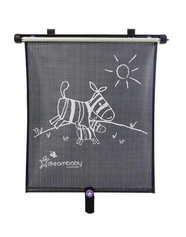 Dreambaby - Roleta samochodowa przeciwsłoneczna UV - dwustronna - Zebra