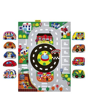 K's Kids - Mata z samochodzikami - miasto