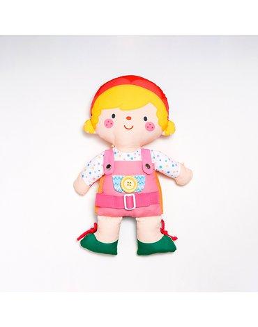 K's Kids - Przytulanka/lalka do ubierania - dwustronna