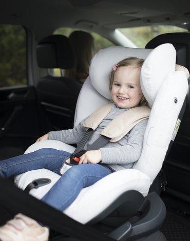 BeSafe akcesoria - Ochraniacz fotelika samochodowego Combi,Kid,Plus,Comfort -bambusowy