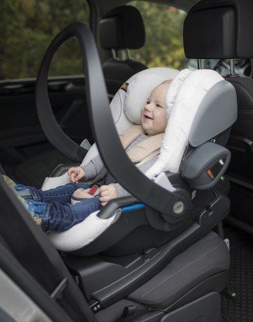 BeSafe akcesoria - Ochraniacz fotelika samochodowego iZi Go Modular i-Size - bambusowy