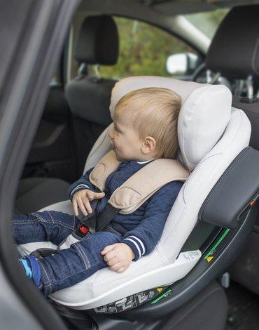 BeSafe akcesoria - Ochraniacz fotelika samochodowego iZi Modular i-Size - bambusowy