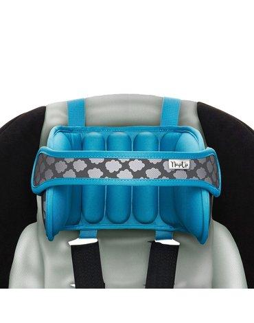 NapUp - Opaska podtrzymująca głowę w foteliku samochodowym - niebieska