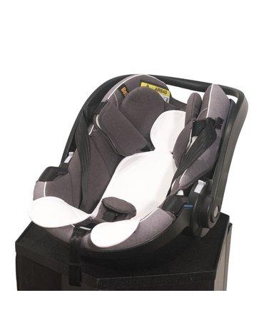 Kuli-Muli - Wkładka antypotowa do fotelika samochodowego 0-13 kg - biała