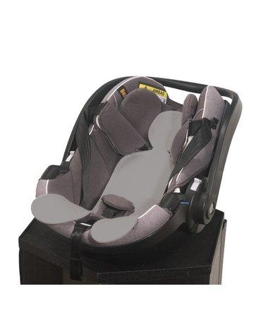 Kuli-Muli - Wkładka antypotowa do fotelika samochodowego 0-13 kg - szara