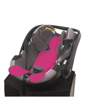 Kuli-Muli - Wkładka antypotowa do fotelika samochodowego 0-13 kg - różowa