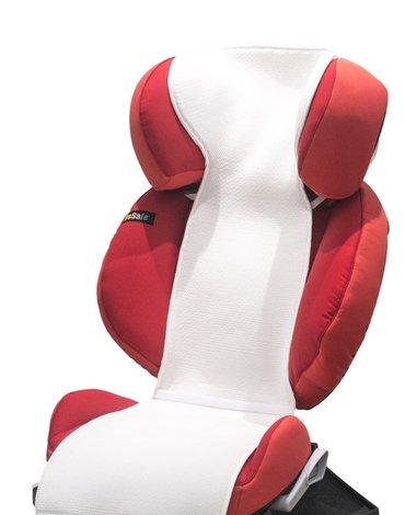 Kuli-Muli - Wkładka antypotowa do fotelika samochodowego 15-36 kg - biała
