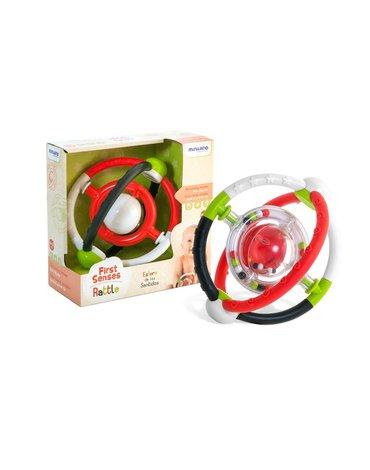 Miniland - zabawki edukacyjne - Grzechotka sensoryczna z kontrastującymi kolorami