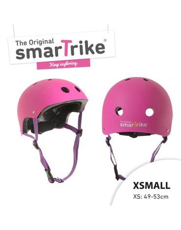 Kask rowerowy Smart Trike - rozmiar XS - różowy